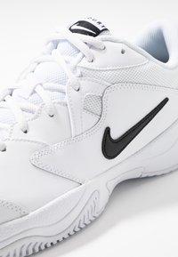 Nike Performance - COURT LITE 2 - Multicourt tennis shoes - white/black - 5
