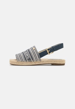 FISHER - Sandals - navy/multicolor