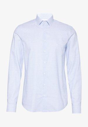 SMALL CHECK EASY CARE SLIM - Formal shirt - blue