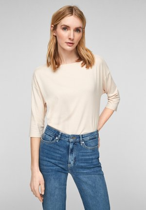 Long sleeved top - light sand