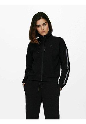 ONPMAXIE ZIP - Sweater met rits - black