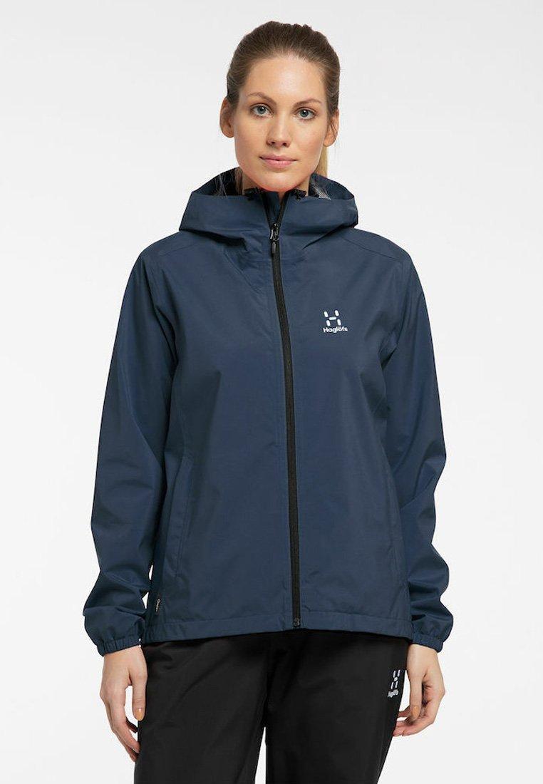 Haglöfs - BUTEO JACKET - Hardshell jacket - tarn blue