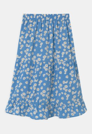 DUS FLOWER - A-line skirt - blue