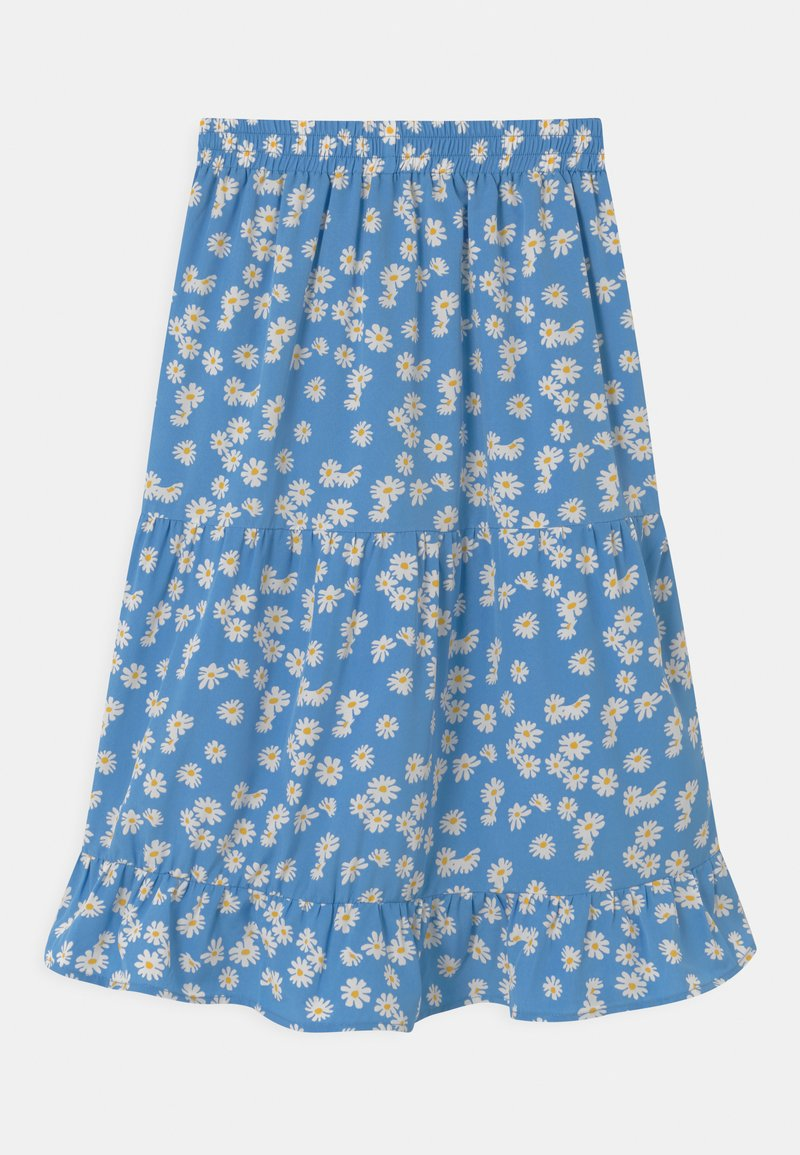 Grunt - DUS FLOWER - Áčková sukně - blue