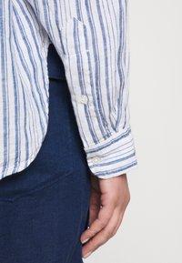 Polo Ralph Lauren - STRIPE - Button-down blouse - white/astor blue - 5