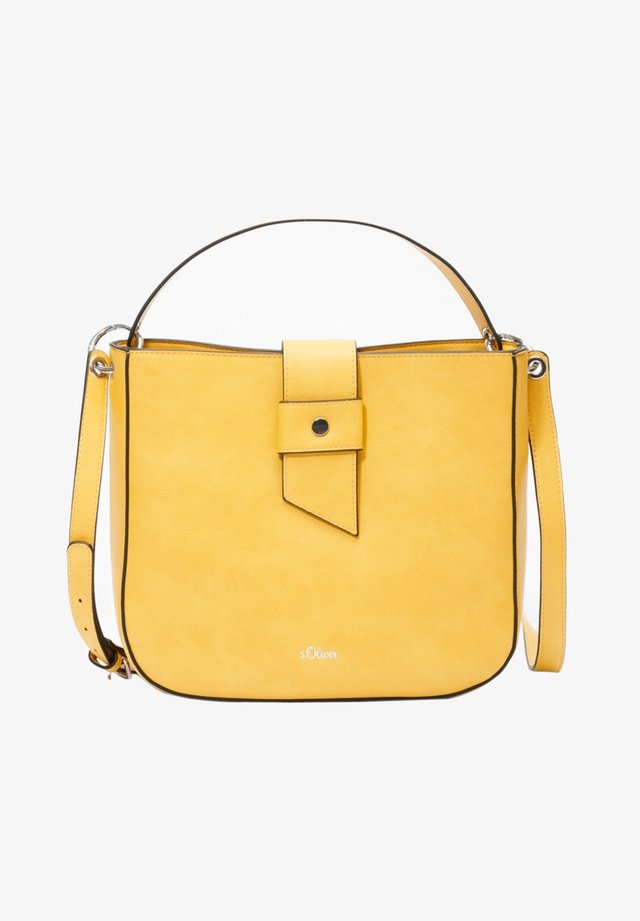 TASCHE - Across body bag - dark yellow