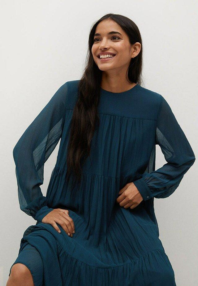 PLISADO - Sukienka letnia - azul