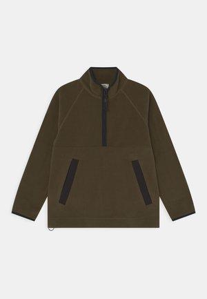 SALIO UNISEX - Fleece jumper - dark green