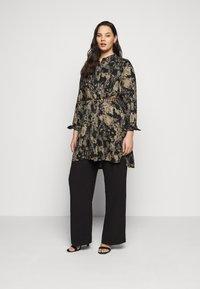 Kaffe Curve - HOLLY BIG - Button-down blouse - grape leaf - 1