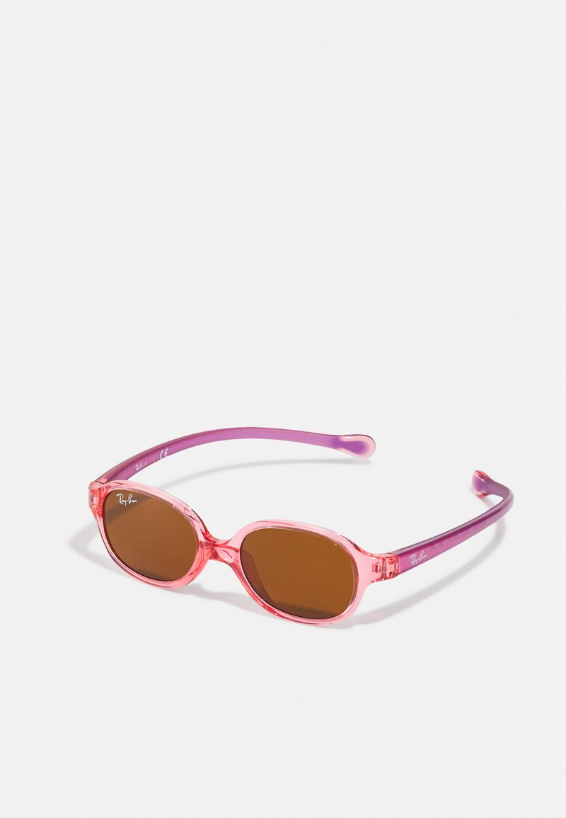 Ray-Ban - JUNIOR UNISEX - Sluneční brýle - transparent light red
