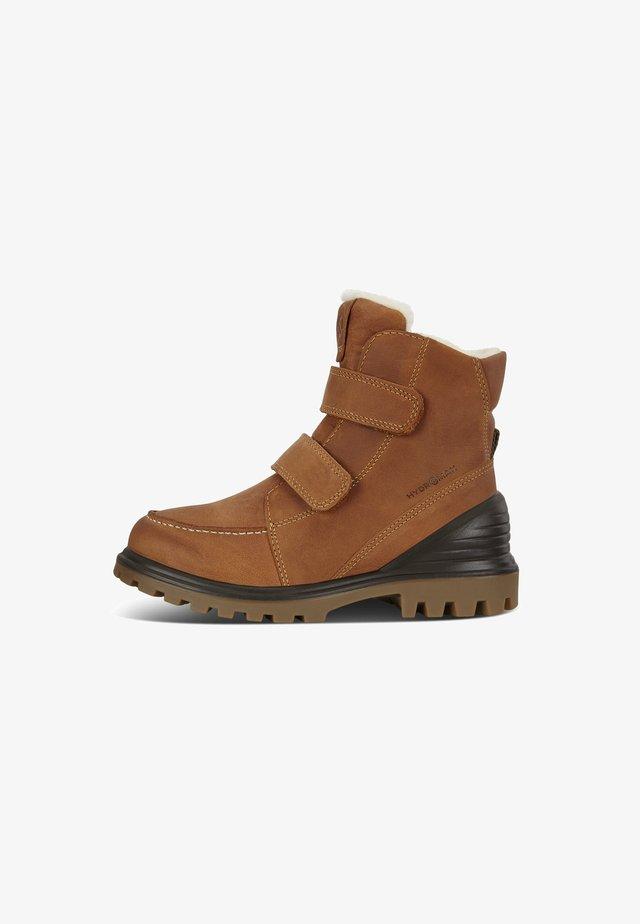 TREDTRAY K MID-CUT - Winter boots - amber