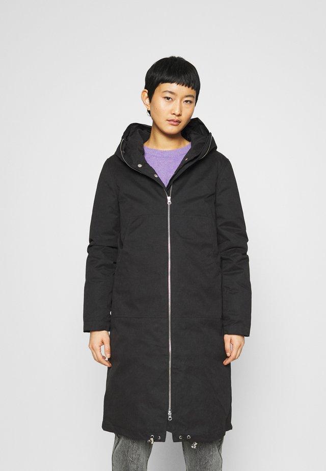 STEAL COAT - Zimní kabát - black
