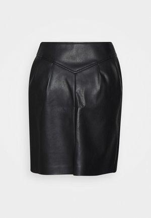 ONLCAMILLA SKIRT  - Mini skirt - black