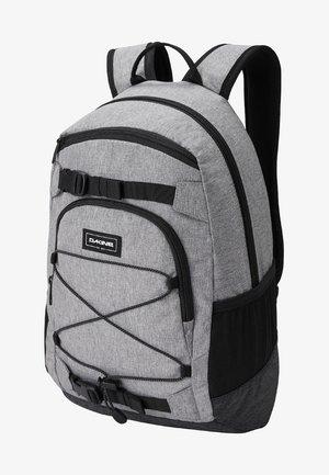 School bag - greyscale