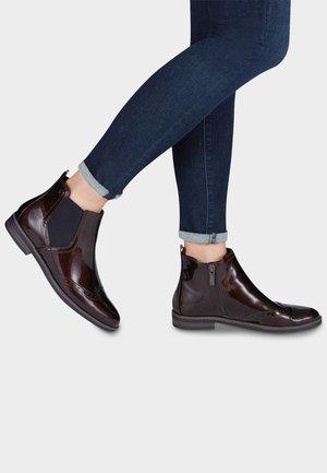 DA.-STIEFEL - Classic ankle boots - brown