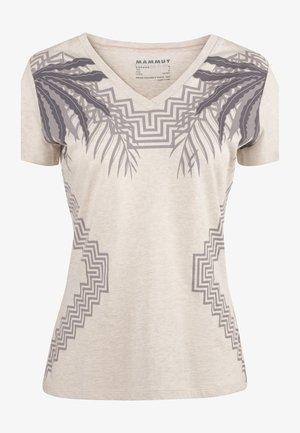ZEPHIRA - Print T-shirt - moonbeam melange