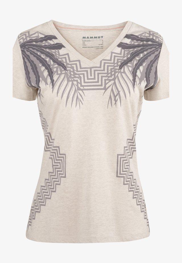 ZEPHIRA - T-shirt z nadrukiem - moonbeam melange