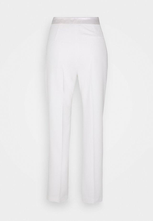 PANT - Stoffhose - bianco latte