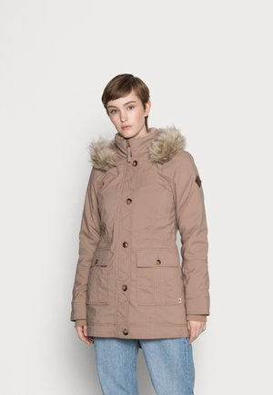 LINED - Winter coat - ginger snap