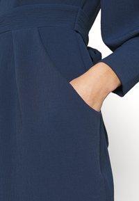 Closet - LONG SLEEVE TULIP DRESS - Shift dress - navy - 4