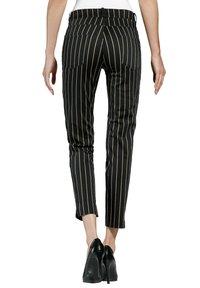 Alba Moda - Trousers - schwarz,taupe - 2