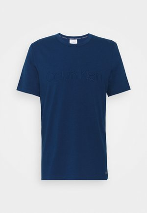 ECO LOUNGE CREW NECK - Pyjama top - blue