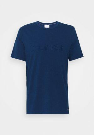 ECO LOUNGE CREW NECK - Nachtwäsche Shirt - blue