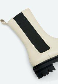 Uterqüe - Vysoká obuv - beige - 2