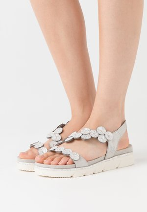 KIKO - Platform sandals - light grey