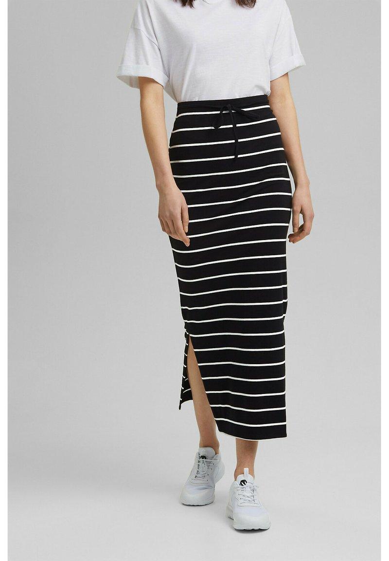edc by Esprit - Maxi skirt - black