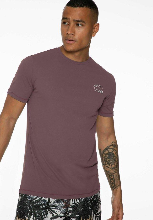 Surfshirt - marron fabric