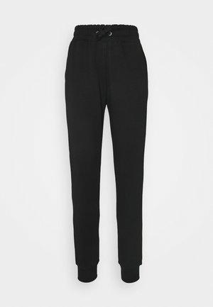 LOGO BASIC - Spodnie treningowe - black