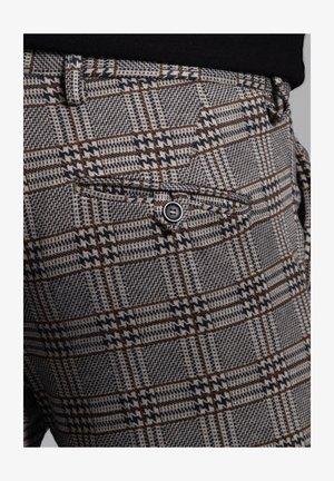 SAILOR - Suit trousers - braun