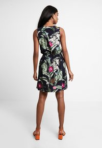 Vero Moda - VMSIMPLY EASY SHORT DRESS - Day dress - night sky/tropicana - 3
