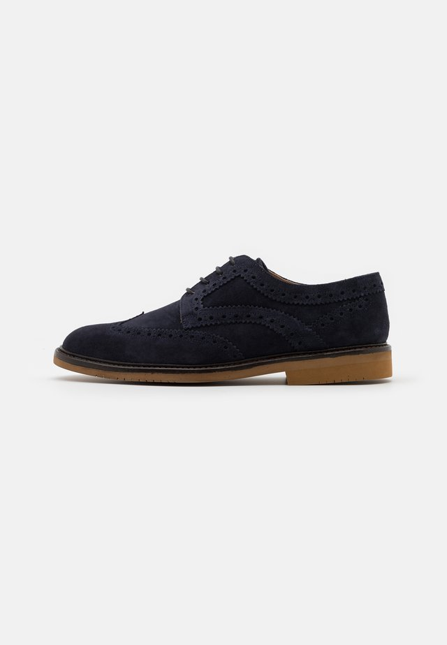 MORGAN - Lace-ups - navy