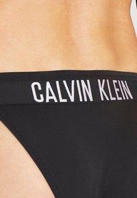 Calvin Klein Swimwear - INTENSE POWER CHEEKY STRING SIDE TIE - Spodní díl bikin - black - 4