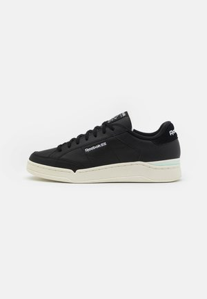 AD COURT UNISEX - Sneakers - core black/aqua dust/footwear white