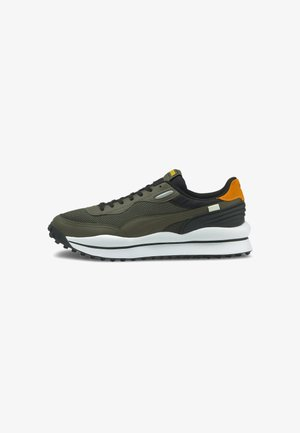 Sneakers basse - forest night-puma white