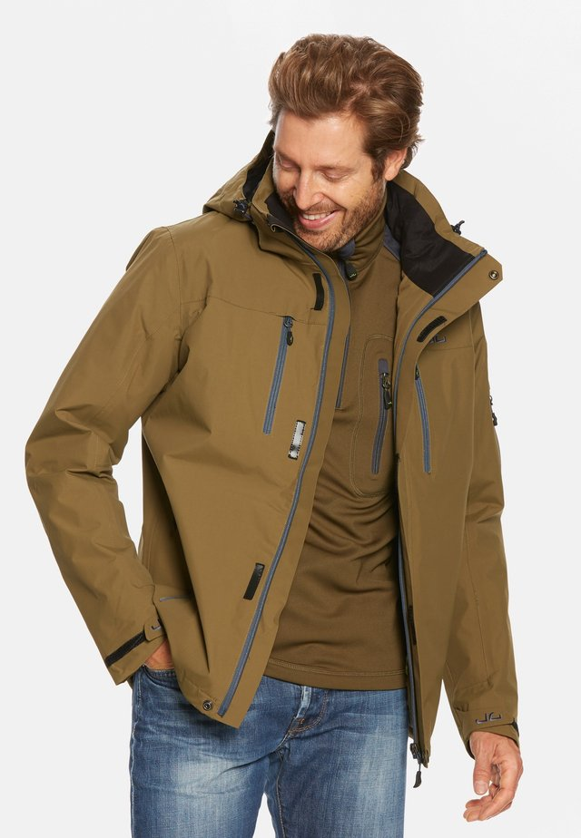 HARSTAD - Giacca outdoor - dark olive