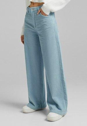 WIDE LEG  - Kalhoty - blue