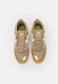 adidas Performance - TERREX TRAILMAKER - Hiking shoes - beige tone/crystal white/white - 3