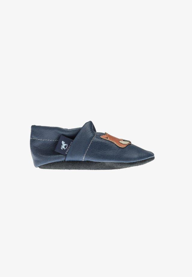 First shoes - blau / orange