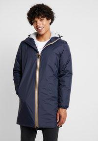 K-Way - UNISEX LE VRAI EIFFEL ORSETTO - Winter coat - blue depth - 0