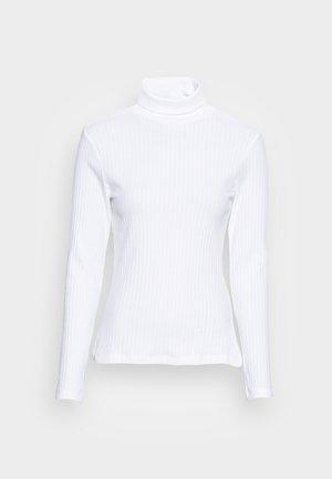 PERKIN NECK LONGSLEEVE  - Topper langermet - white