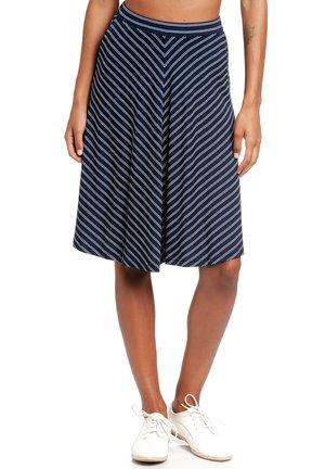 A-line skirt - blau allover