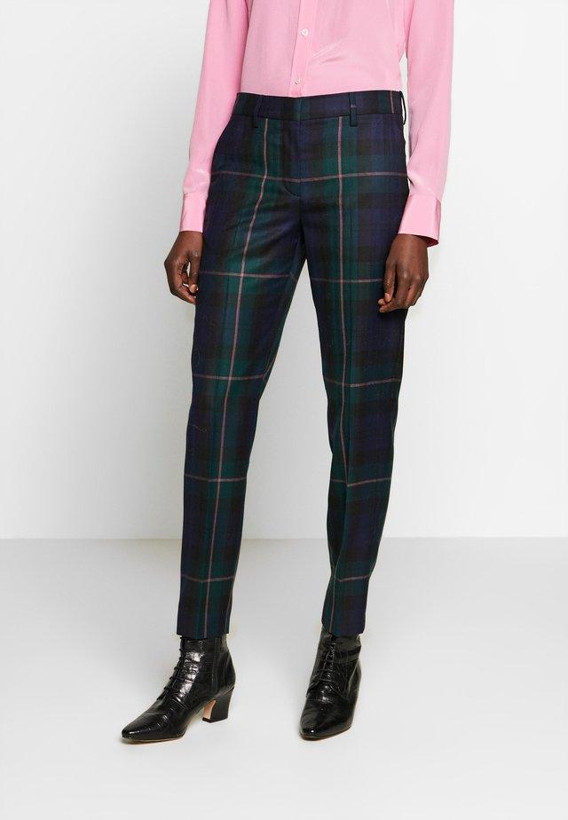 Spodnie materiałowe - green multi