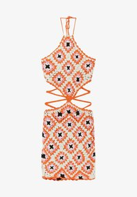 Bershka - Jumper dress - orange - 4