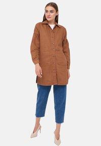 LC Waikiki - Denim jacket - brown - 0