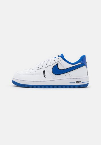 FORCE 1 LV8 - Sneakers basse - white/black/game royal