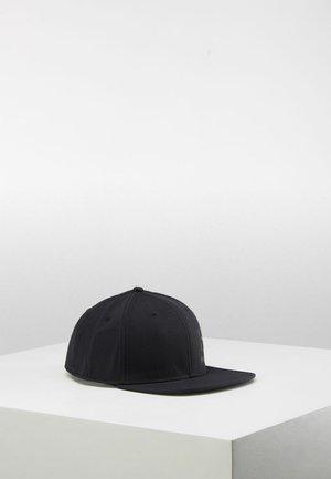 LOGO CAP - Lippalakki - true black/magnetite